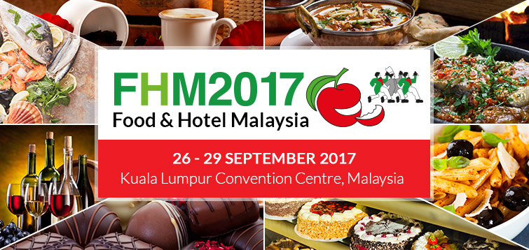 Food & Hotel Malaysia 2017 | Kuala Lumpur Convention Centre, Malaysia, from 26-29 September 2017