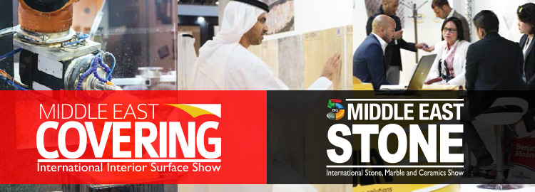 Middle East Covering & Middle East Stone 2017 | 22-25 May 2017 at the Dubai World Trade Centre