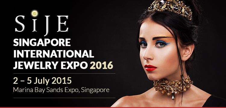 Singapore International Jewelry Expo 2016  | 21 – 24 July 2016 at Marina Bay Sands Expo, Singapore