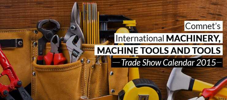 machine trade shows 2015
