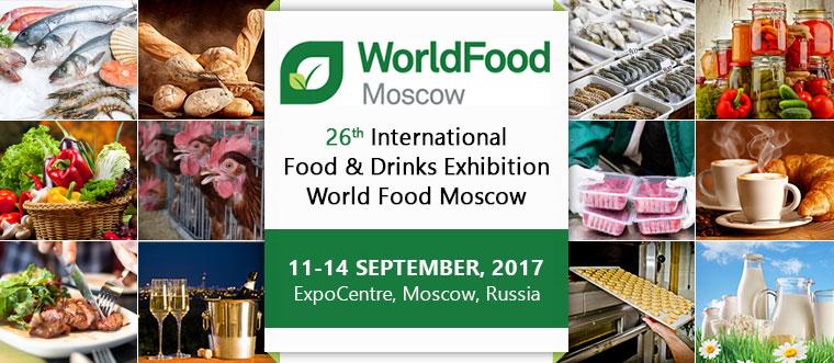 Resultado de imagem para world food moscow 2017