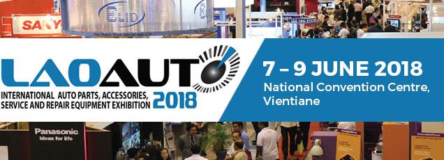 Laoauto 2018   7 – 9 June, 2018 at National Convention Centre, Vientiane, Laos